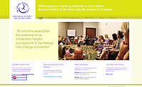 Screenshot of The Iolanthe Midwifery Trust site