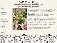 Ruth's Flower Designs website